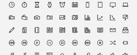 Icon fonts