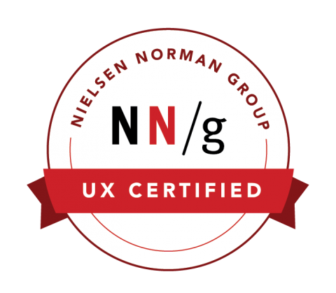 Mario Araque UXC Certified Nielsen Norman Group